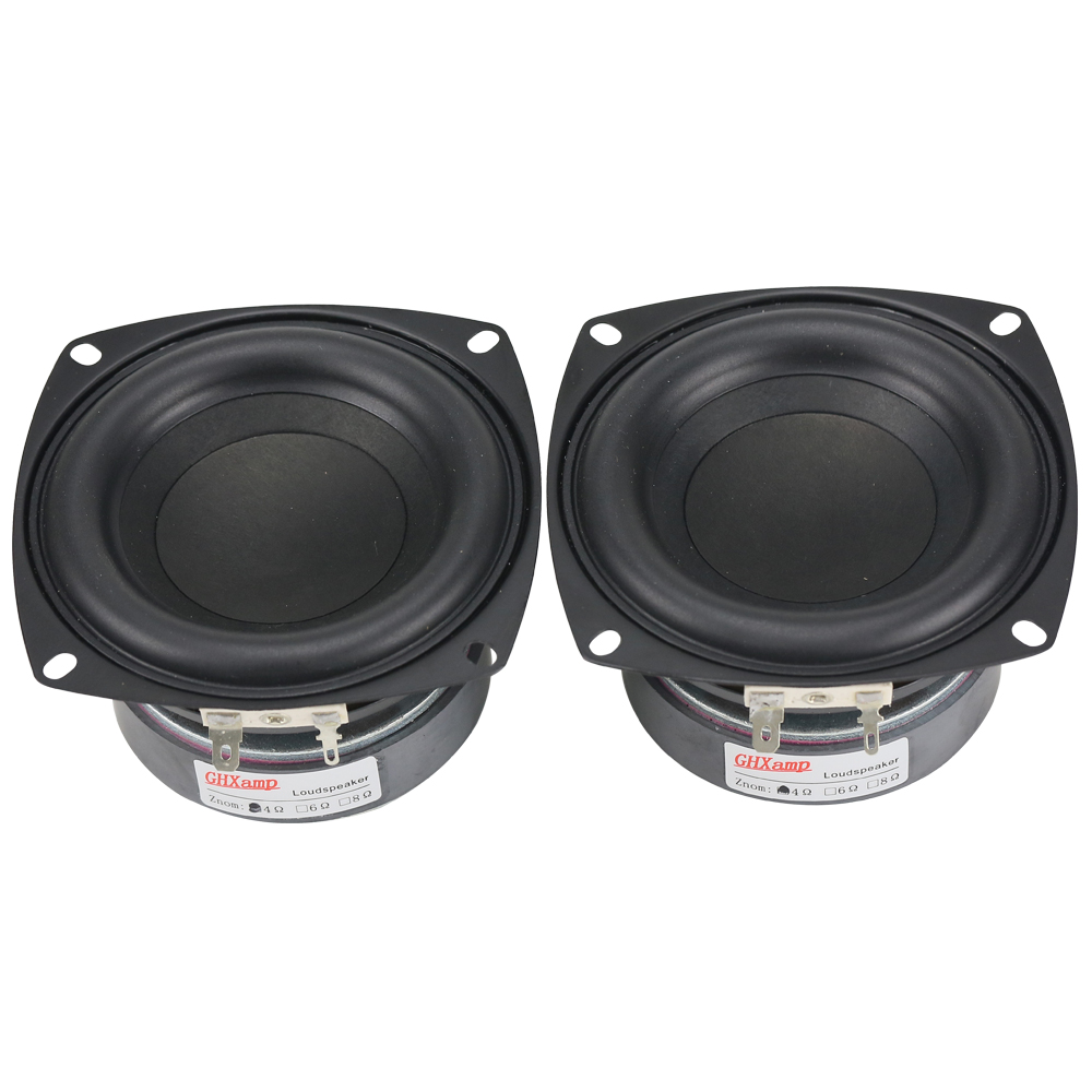 GHXAMP 1PC 4 inča 40 W Subwoofer zvučnik Woofer High Power Dugi hod - Prijenosni audio i video - Foto 6