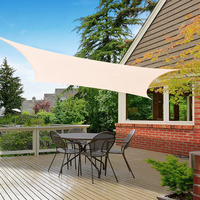 Outdoor Sun Sail Garden Shade Cloth Waterproof Patio Camping Cool Canopies Awning Summer Yard Shelters Top Cover 3x4/3x3m