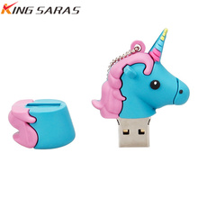 flash drive Lovely usb disk waterproof memoria cle high speed 4GB 8GB 16GB 32GB 64GB 128GB pen best gift free delivery