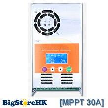 12V 24V 36V 48V 30A MPPT Solar Controller Use for Vented Sealed Gel Nicd Li Battery High Performance Charge Controller with LCD