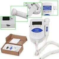 10 unids Pocket Fetal doppler SONOLINE B 3 M retroiluminación LCD baby monitor + Gel Libre