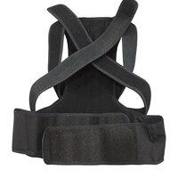 1 Pcs Posture Corrector Magnetic Back Support Belt Black Tourmaline Lumbar Belt Brace for Child Student Adult Back Massager