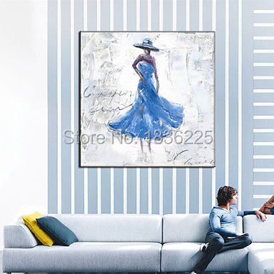 Online Shop Hand Painted Abstract Canvas Painting ballerina Oil ...