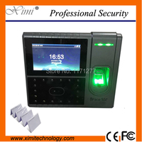 RS232&485 smart attendance clock iface502 face recognition and fingerprint access control rfid card office electronic equipment
