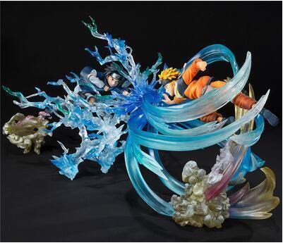 22cm Naruto Uchiha Sasuke Uzumaki Naruto Anime Action Figure PVC New Collection figures toys brinquedos Collection 4