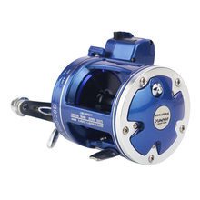Metal Left/Right handle Casting Sea Fishing Reel Saltwater Baitcasting Reel Coil 12 Ball Bearings Cast Drum Wheel(China)