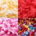 Pétalos de rosa 1000 unids pasillo decoración nupcial de Novia de Seda Artificial Pétalo de La Flor de Ducha de Confeti suministro decoración en venta