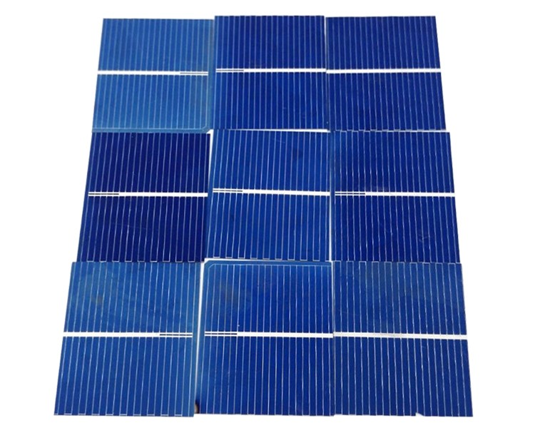 Aoshike 100pcs Solar Panel Sunpower Solar Cell photovoltaic panels Polycrystalline DIY Solar Battery Charger 0.5V 0.17W 39x26mm 3