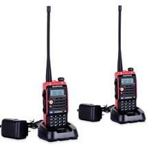 2 قطعة مصباح ليد 4800mah بطارية Bf Uvb2 Baofeng Uvb2 زائد ل WalkieTalkie Cb راديو المحمول Comunicador عالية الطاقة Baofeng 8 واط b2