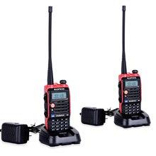 2PCS LED Light 4800mah Battery Bf Uvb2 Baofeng Uvb2 Plus For WalkieTalkie Cb Radio Mobile Comunicador High Power Baofeng 8w b2