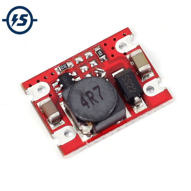 DC-DC 2 V-5 V naar 5 V Step Up Boost Power Supply Module Voltage Converter Board 2A Vaste output High-Current Voor Droge/lithium Batterij
