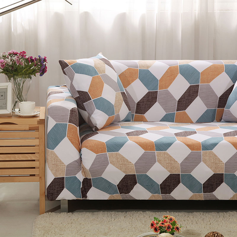 Up To 3 Seats Stretchable Sofa Cover 11
