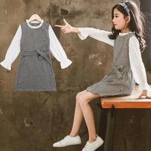 Spring Toddler Girls Dress Plaid Kids School Dresses 2019 Dress For Girls Long Sleeve Children's Clothing Fashion Kids Clothes