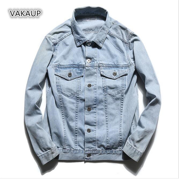 Mens Jacket Early Autumn Cowboy Body Young Handsome Spring And Autumn Jacket Men Jacket Jeans Men Jeans Jacket