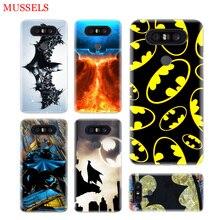 Batman Superhero Phone Cases For LG V40 G6 G7 Q6 Q8 Q7 G5 G4 V30 V20 V10 K8 K10 2018 2017 Covers Coque Shell