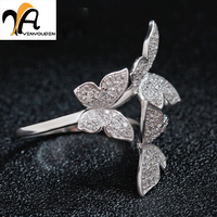 2016 Factory Direct Explosion Models 925 Sterling Silver Refined Aesthetic Glittering Ring Female Models Big