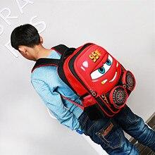 Милые дети Школьные сумки мультфильм автомобиль Рюкзак Малыш Дети Книга сумка рюкзаки с люминесцентными плечевой ремень