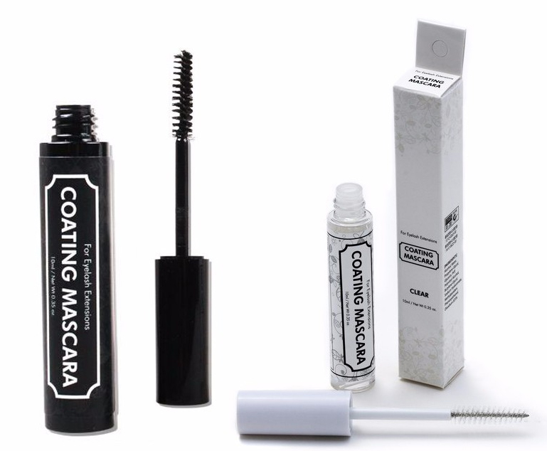 Clear Black Mascara Coating for Eyelash Extension After Care Free Shipping Eyelash Extension Tools