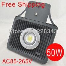 Free shipping sale AC85 265V 50W led street light IP65 Epistar lighting 1200 1300LM LED led