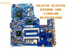 Original for ACER V5-471G laptop motherboard V5-471G I5-3317U GT620M 1GB 11309-4M 48.4TU05.04M tested good free shipping