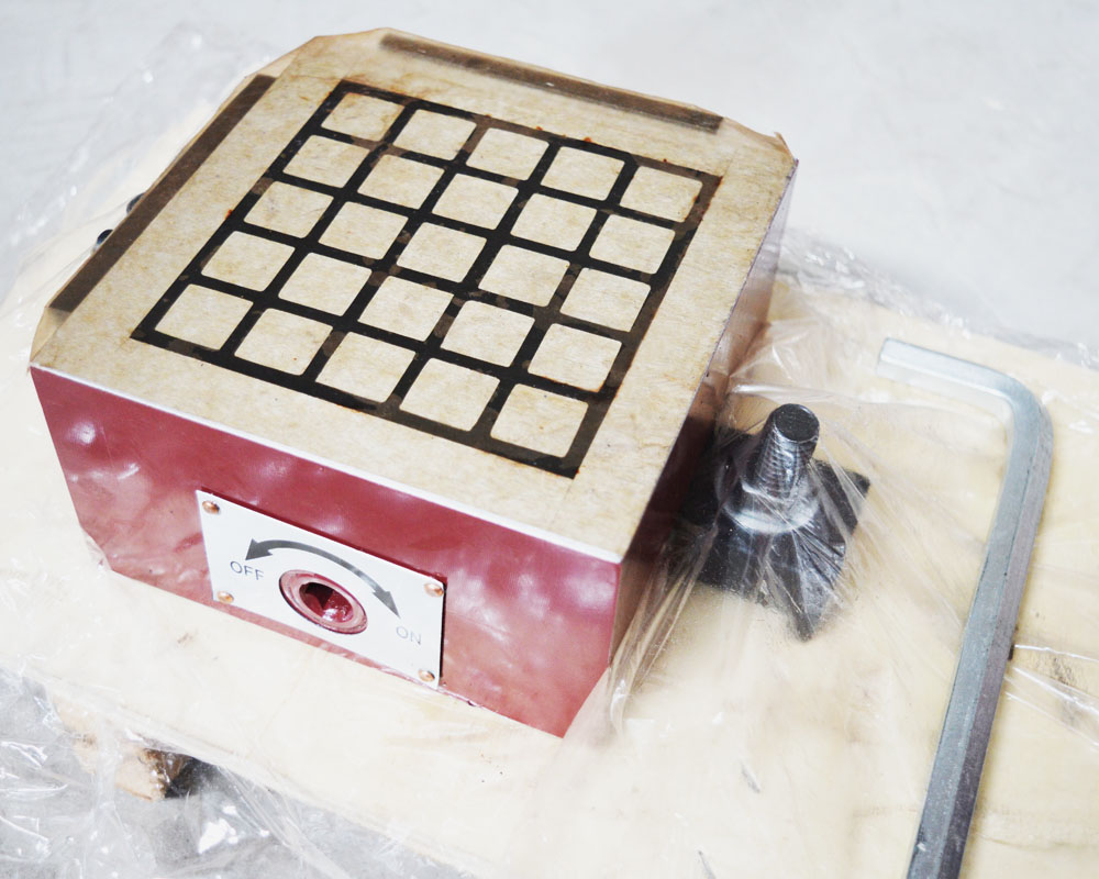 Super Powerful Square Permanent CNC Magnetic Chuck 6x6 inch For Grinding Milling Machine