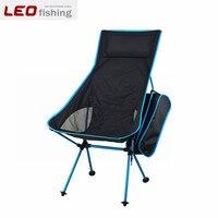 En plein air Portable Léger Pliant Chaise De Pêche De Camping Tabouret Chaise Avec Poche Confortable Détente En Plein Air Chaises
