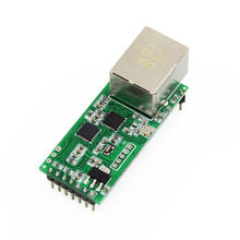 цена на Q18042 USRIOT USR-TCP232-T2 Tiny Serial Ethernet Converter Module Serial UART TTL to Ethernet TCPIP Module Support DHCP and DNS
