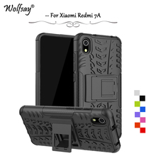 For Xiaomi Redmi 7A Case Shockproof Armor Rubber Silicone Hard PC Phone Back Cover