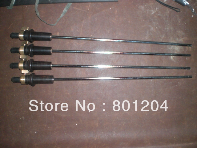 5PCs of 4/4 Cello Endpin Ebony steel rod Cello parts цены