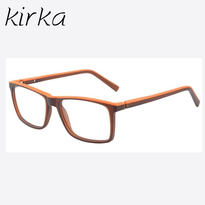 114ed94a3a76 Kirka Brand TR90 Glasses Frame Men Sport Women Eyeglasses Frames Full Rim  Fashion Style Eye Glasses