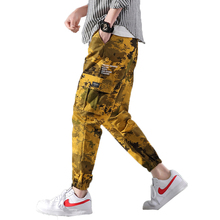 hot deal buy 2019 brand men cargo pants men fashion streetwear hip hop harem pants mens jogger pants youth casual spring ankle banded pants