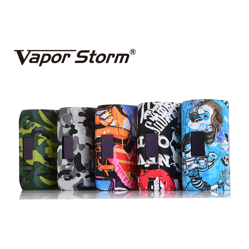 Vapor Storm Storm230 Bypass 200W VW TC Box Mod Vapes Fashion Mod Support Dual 18650 Battery Electronic Cigarette RDA RBA RDTA 5 n vape vapes a 1