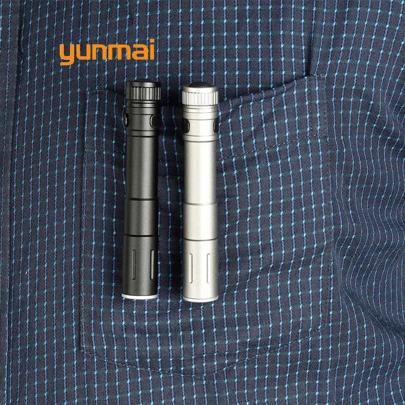 2019 Mini LED Flashlight ZOOM 7W PENLIGHT Q5 2000LM Waterproof Lanterna LED Zoomable Torch AAA Battery Powerful Led For Hunting