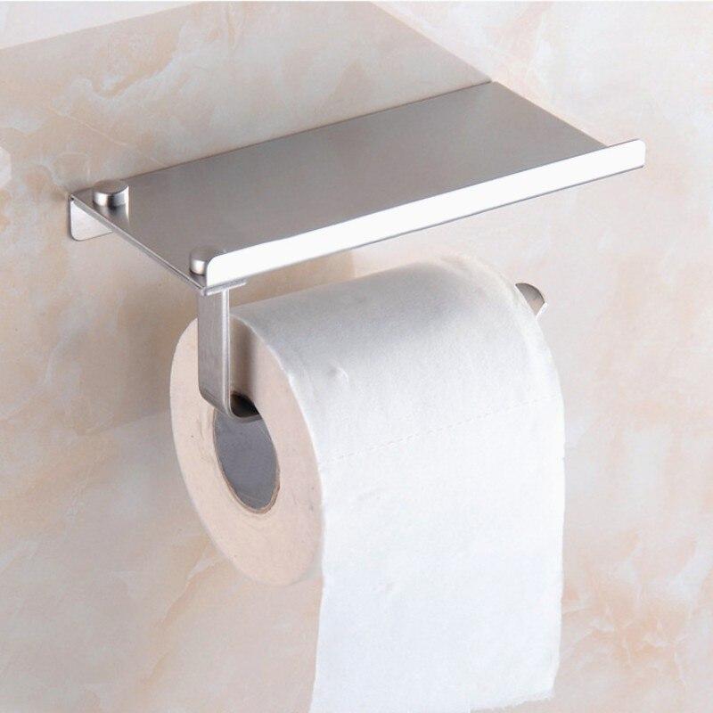 Mobile Phone Holder Bathroom Shelf Holder Rack Toilet