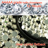 AAAAA grade 99% Similar Swa Crystal Clear Hotfix Flatback Rhinestones for Professional Buyers diy shoes dress accessaries