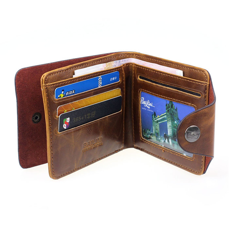 Men Hasp Wallet PU Leather Purse Trifold Wallets For Man High Quality Big Capacity Credit Crad Holders Money Bag Cheap Vintage vicuna polo italy famous brand men wallet high quality pu leather trifold wallet large capacity short metal wallet for man