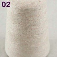 Sales 1X500g High Quality 100 Pure Cashmere Warm Soft Hand Woven Tower Yarn Cream 262 5002