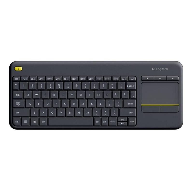 Clavier tactile sans fil Logitech K400 Plus avec pavé tactile pour Android Smart TV