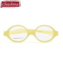 Маленькие детские медицинские силиконовые очки по рецепту, детские оправы для очков, гибсветильник новые очки для девочек