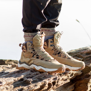 Image 3 - RAX 2020 Waterproof Hiking Shoes For Men Winter Hiking Boots Men Outdoor Boots Climbing Walking Mountaineering Trekking Shoes