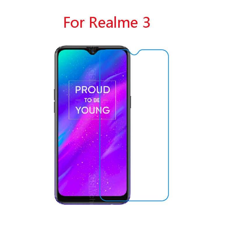 (2 パック) 9 H 柔軟なガラス用 Realme 3