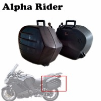 Motorcycle Saddlebag Trunk Tool Luggage Saddle Bags Side Case Boxes For Kawasaki Concours 14 ZG1400 1400GTR