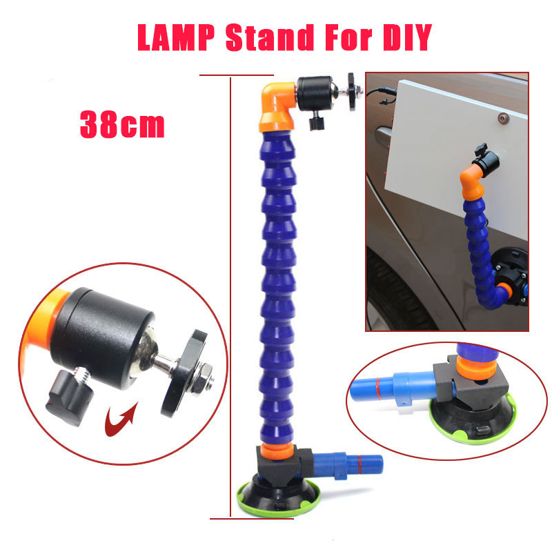 3 inch Heavy Duty Hand Pump Suction Cup with flexible gooseneck pipe for car dent KING lamp