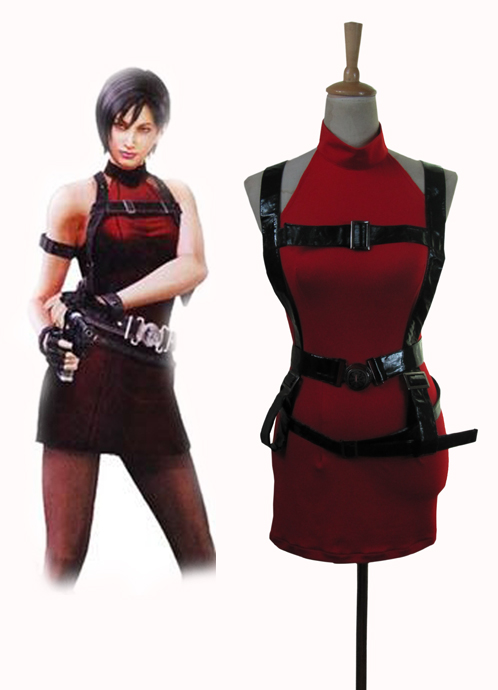 Resident Evil 2 Ada Wong Cosplay Costume Tailor Made