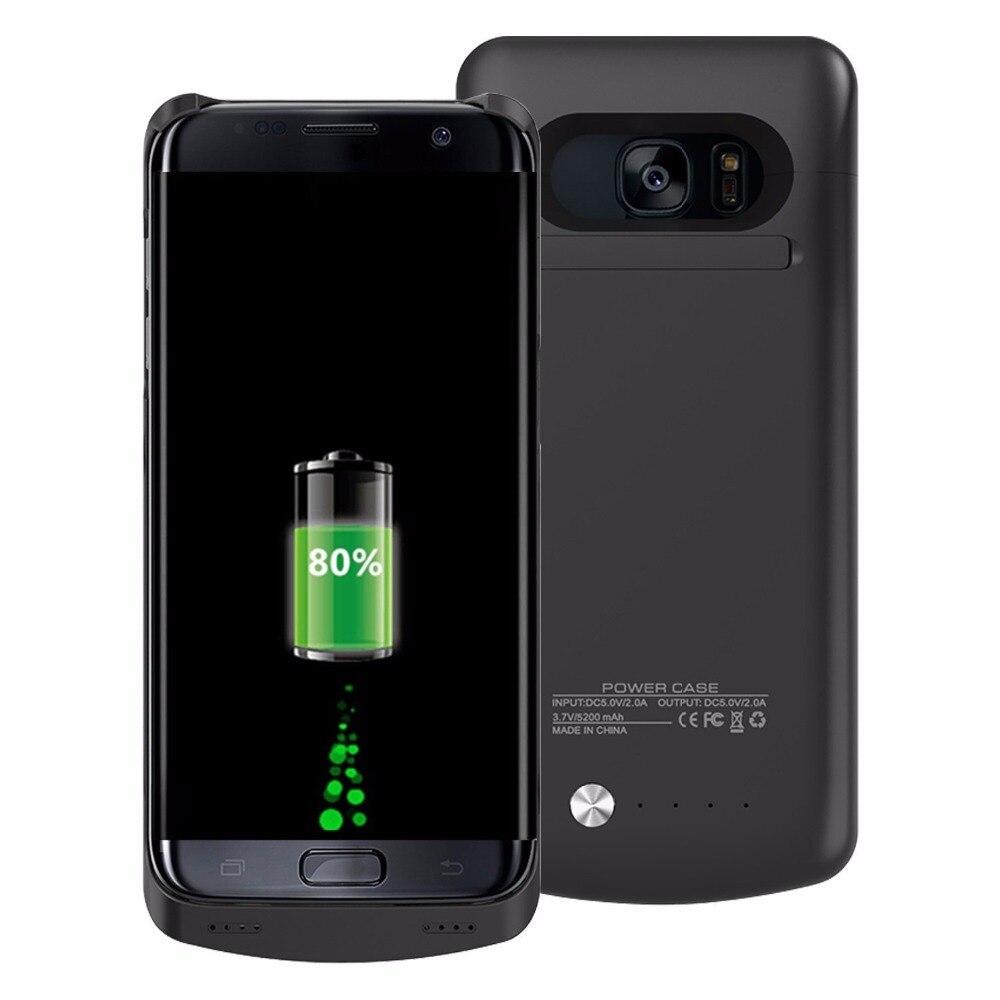 imágenes para Mellid 5200 Mah Paquete de Energía Externa Para Samsung Galaxy S7 Borde Caja de Batería de la Energía Bank