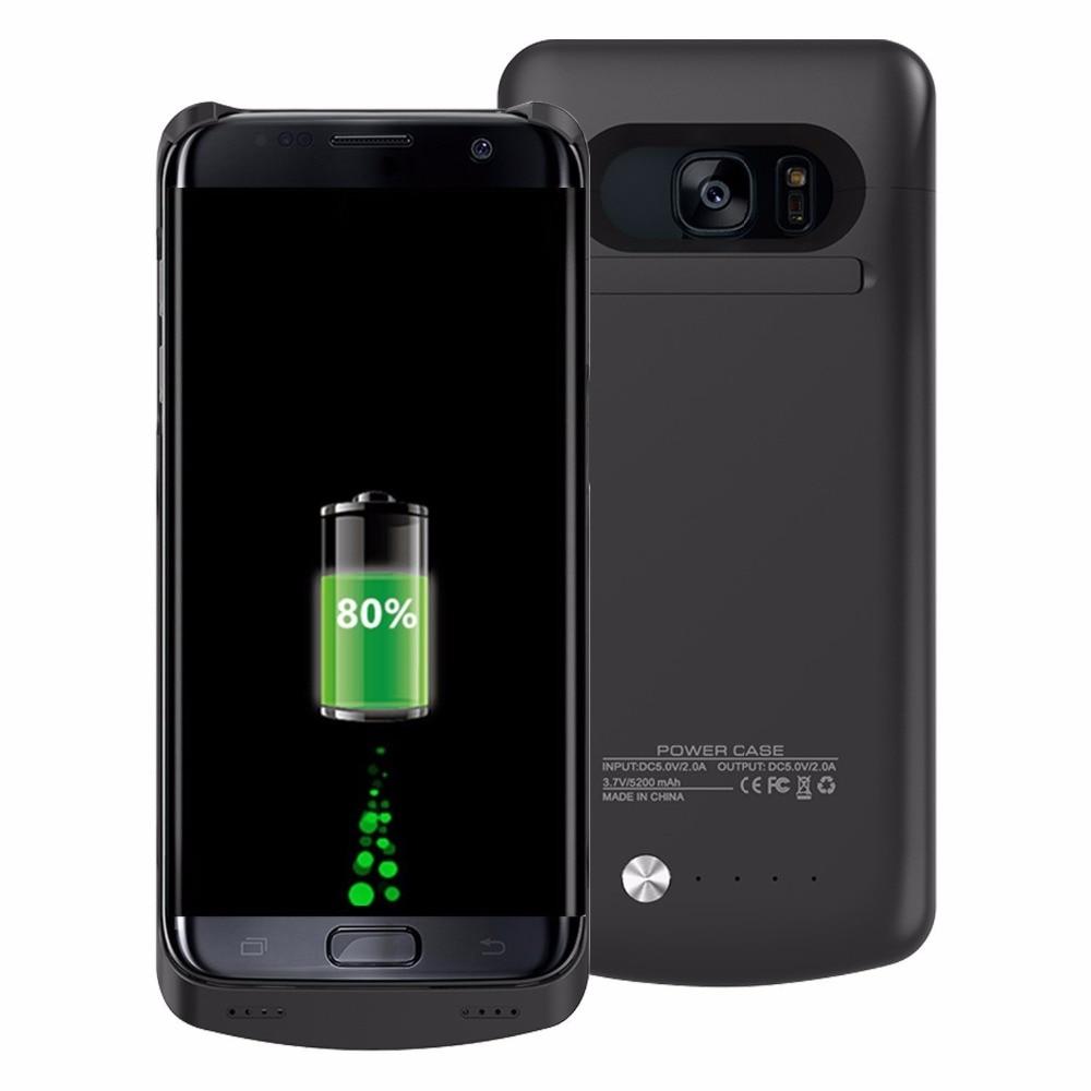 Цена за Mellid 5200 мАч внешний Мощность Pack Чехол для Samsung Galaxy S7 край Мощность банк Батарея случае