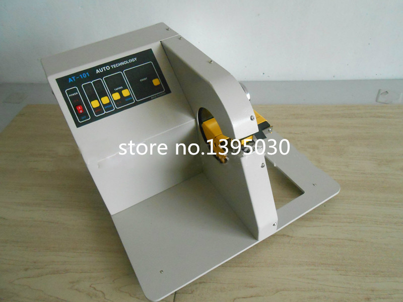 on manual wire harness taping machine