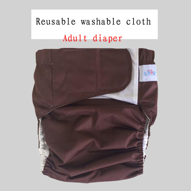 Reusable Washable Diapers for Disability Incontinence Care One Size,Unisex Teen//Adult Leakproof Cloth Diaper