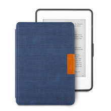 Dark Blue Ultra Slim PU Leather eReader Case For Amazon Kindle Paperwhite Paper White 1 2 3 Soft Shell Flip Cover eBook Cases new design case for amazon 2016 kindle 8th generation 6 ereader slim protective flip smart cover pu leather screen protector