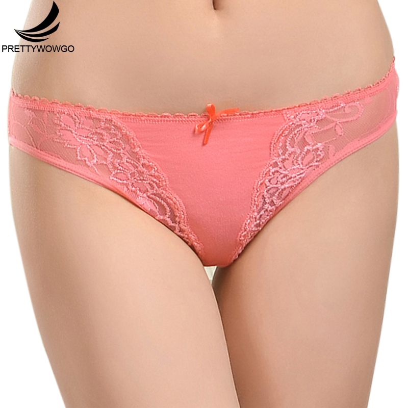 Prettywowgo Sexy Transparent Lace Panties Cotton Women Underwear Lady Underpants Lingerie Knickers Ropa Interior Mujer 6840 ...